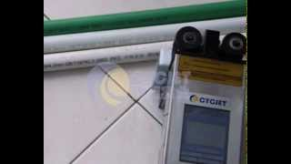 PE Pipe Handheld inkjet Printer_Hand coding machine for PVC & PE pipe_Handjet Printer of PVC pipe Thumbnail
