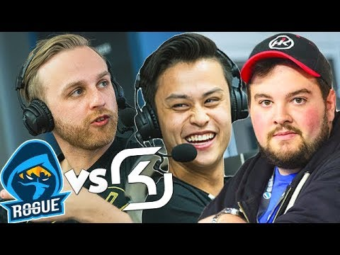 SK Gaming New Roster Vs Rogue & HiKo! With n0thing Casting!