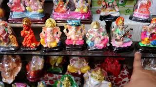 Video Cheapest Diwali gift items | Religious murti wholesale market, Sadar bazaar, Delhi | VANSHMJ download MP3, 3GP, MP4, WEBM, AVI, FLV November 2018