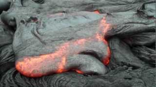 IMMENSE LAVA FIELD AND FORESTS BURNING 10 4 12 B thumbnail