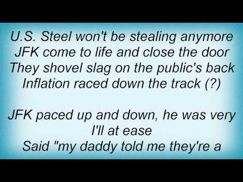 18084 Phil Ochs - The Ballad Of U.S. Steel Lyrics