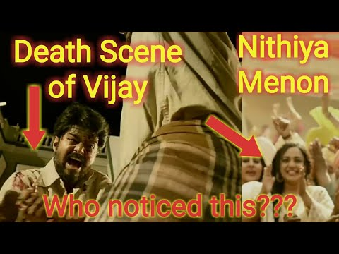 Vijay's Death Scene and Nithiya Menon Heroine showed on Mersal Teaser Who Noticed This?? | Vijay...