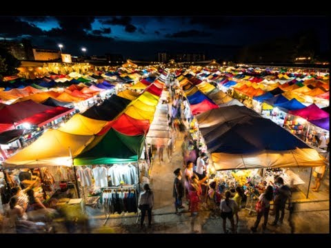 Thepprasit Night Market Saturday Night 13.01.2018 Pattaya