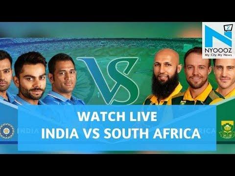 LIVE India vs South Africa 2018, 1st T20I Cricket Score | IndvsSA T20| NYOOOZ TV
