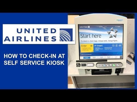 TRAVEL TIPS | UNITED AIRLINES: HOW TO CHECK IN AT SELF-SERVICE KIOSK