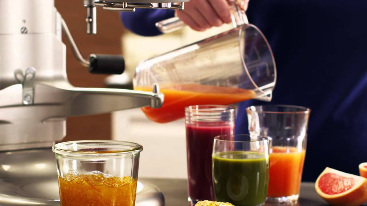 Stand Mixer: Juicer and Sauce Attachment | KitchenAid