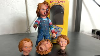 Unboxing   Child's Play Ultimate Chucky Doll Figure By Neca