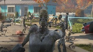 Accidentally Unleashing 50 Synths In Fallout 4's Opening Scene - IGN Plays Live