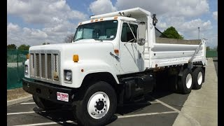 2000 International 2574 Cummins N14 16' Dump Truck For Sale