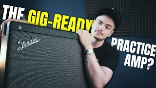 This Bluetooth Amp Impressed Me!   Fender Mustang GTX100 Review!
