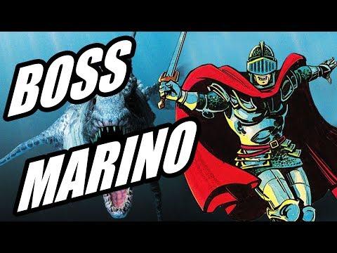 SUPER GHOULS 'N GHOSTS #03   BOSS MARINO