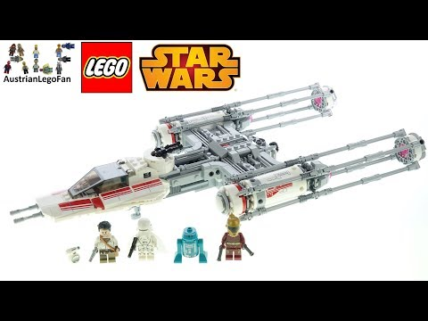 LEGO Star Wars 75249 Resistance Y-Wing Starfighter - Lego Speed Build Review