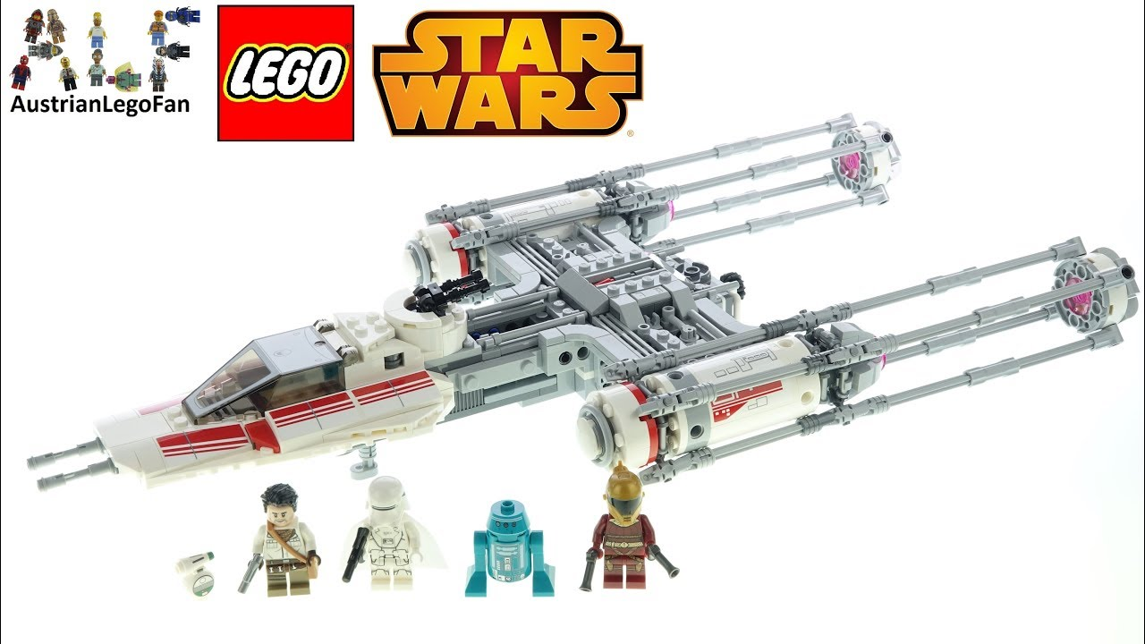 Lego Star Wars 75249 Resistance Y Wing Starfighter Lego Speed Build Review Youtube