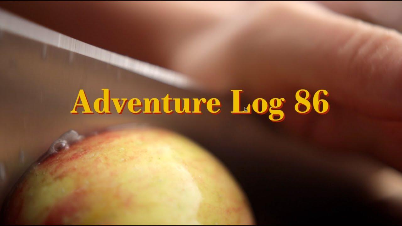 adventure log 86 // apple cider