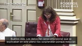 Conchi Monzón (Podemos) sobre el censo de vertidos