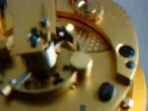 WWII ERA THOMAS MERCER MARINE / SHIP CHRONOMETER CLOCK (video 2)