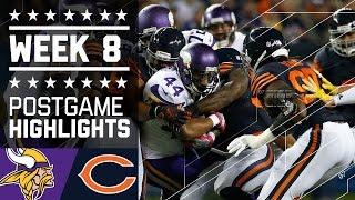 Vikings vs. Bears | NFL Week 8 Game Highlights