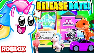 When is Overlook Bay Releasing? New Pets, New Houses, New Everything! Roblox Overlook Bay