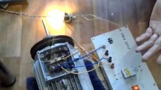 Двойная экономия электроэнергии  резонансный асинхронный двигатель