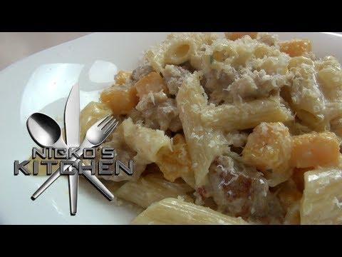 CREAMY PASTA & SAUSAGE - Nicko's Kitchen