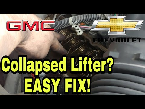 Collapsed Lifter 5.3 DOD / AFM Silverado & Sierra Replacement, Install, Symptoms, Diagnosing, Noise