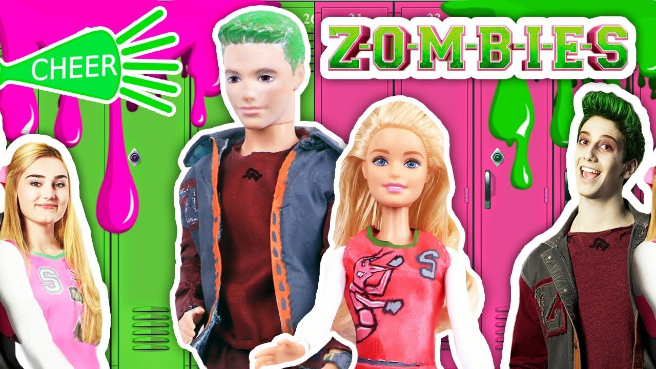 ZOMBIES Disney Channel la película con BARBIE y KEN! - Juguetes y  Transformaciones Fantásticas 99868dedf91