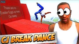 GTA SAN ANDREAS: CJ BREAK DANCE (PARKOUR MOD)