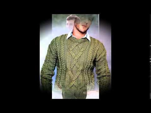 Мужские свитера связанные спицами схемы
