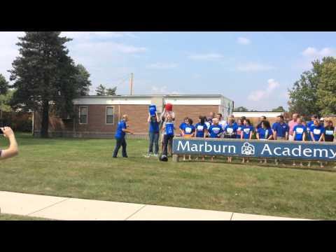 Marburn Academy ALS Ice Bucket Challenge
