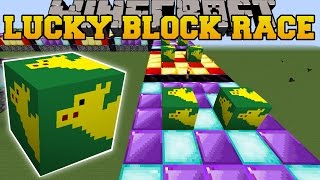 Minecraft: WEIRD CAMEL LUCKY BLOCK RACE - Lucky Block Mod - Modded Mini-Game