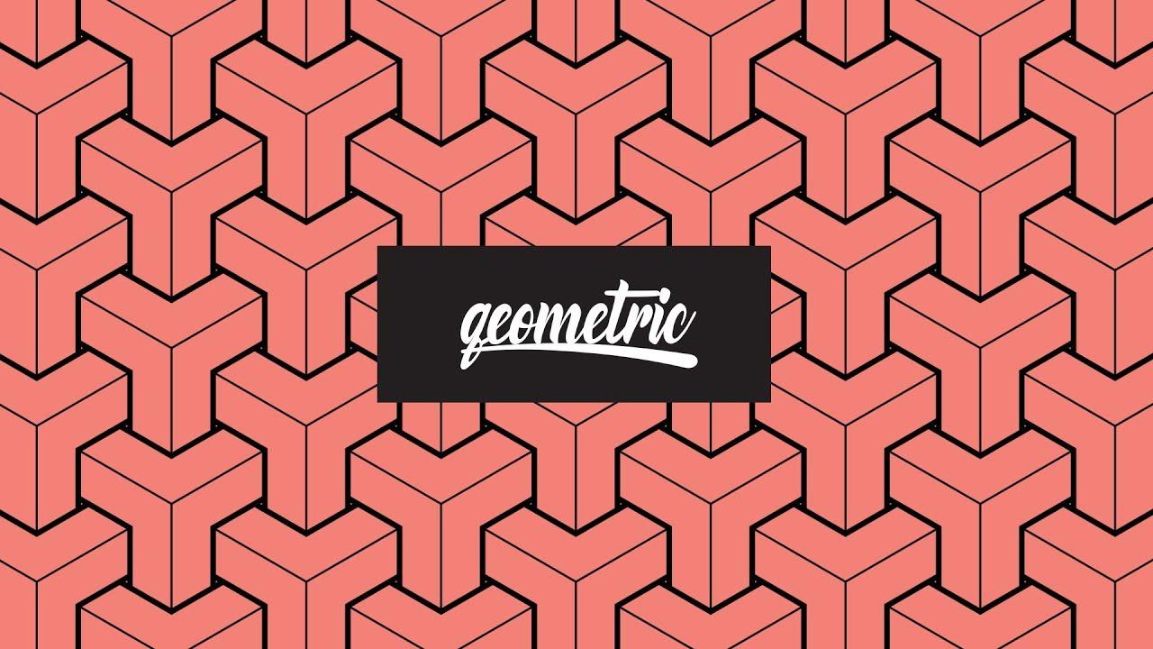 geometric pattern adobe illustrator plus howto mockup geometric