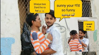Prank On || sunny leone tiktok star 😂😂|| Kinner (हिजड़े)se pyar 😛😛!! Ft. Vishant Rajput