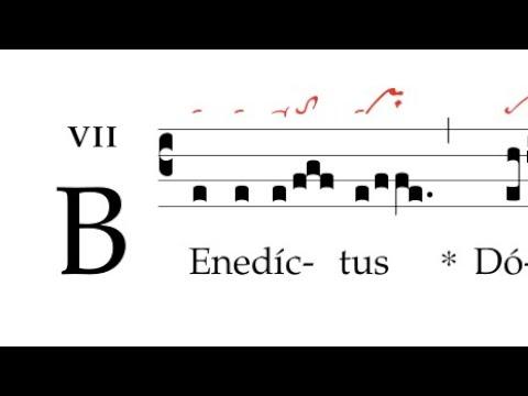 Graduale: Benedictus Dominus Deus