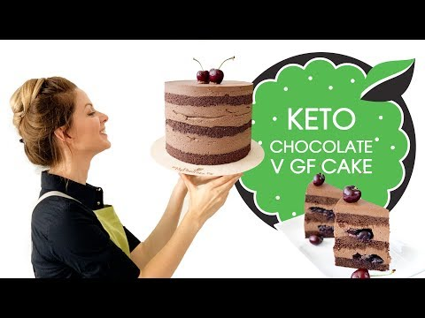 Keto Vegan Chocolate Cake | Diabetic Friendly | Gluten-Free and Sugar-Free