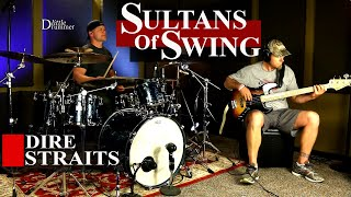 Dire Straits Sultans Of Swing (Bass & Drum Cover) ⚫⚫⚫