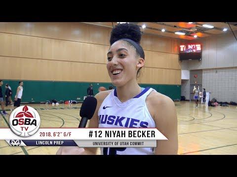 Meet Lincoln Prep's 2018 University of Utah Commit - Niyah Becker