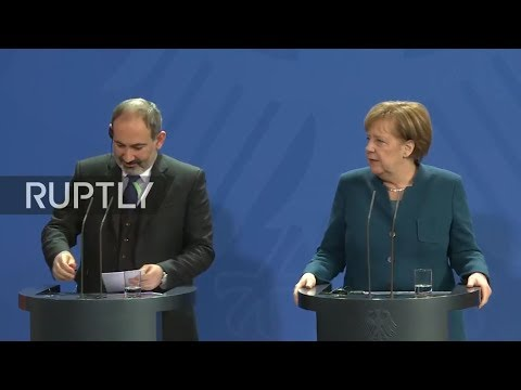 LIVE: Merkel and Armenian PM Pashinyan hold press conference after talks in Berlin