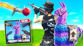 MISSILES vs LLAMAS CUSTOM MODE in Fortnite Battle Royale