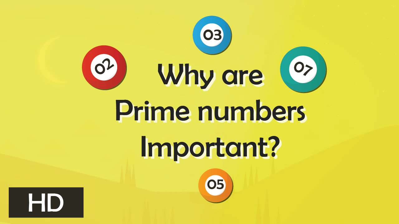 why are prime numbers important tell me why youtube