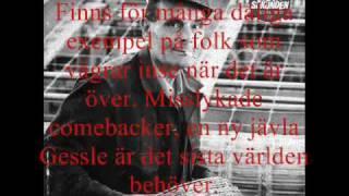 Sista Sekunden - Att Åldras Med Stil (w/ lyrics)