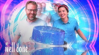 Mirror Glaze Cake Madness | Homemade Vs the Internet | Well Done