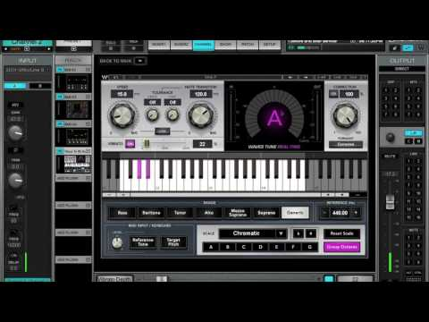 Waves Tune Realtime