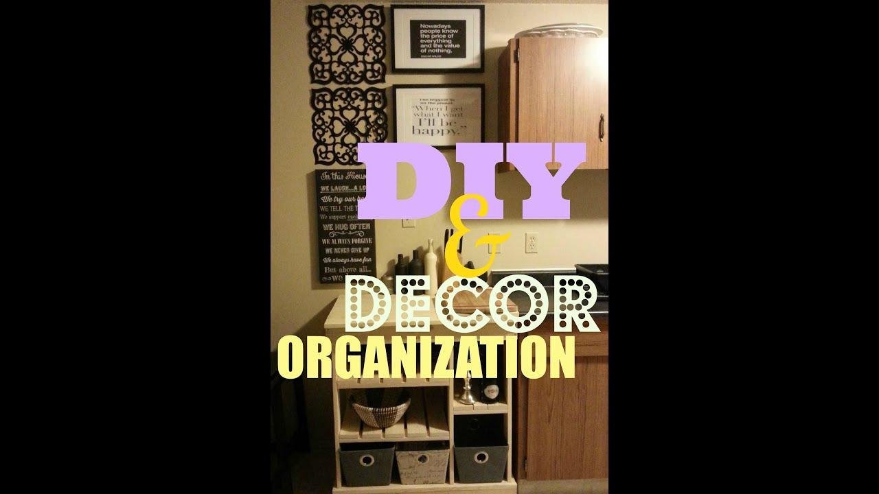 Apartment Kitchen Organization Diy Mini Apartment Kitchen Makeover Organization Youtube