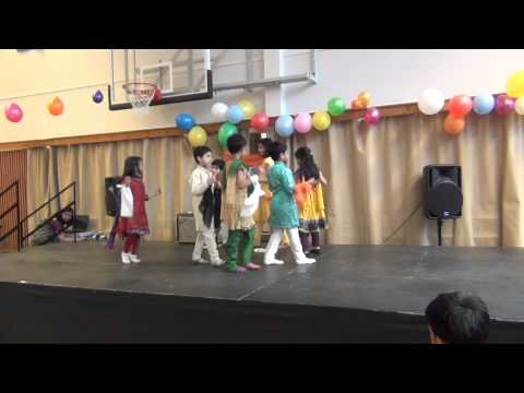 ISH Helsinki International day Indian children dance 2012