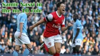 Nasri in the no.10 role