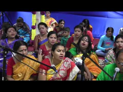 Jamaica Kali Mandir NY USA,Adhibus Kirtan on Sept 4,2016 at Kali Mandir