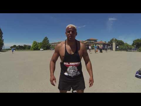 Belibeast street weight workout in Marseille