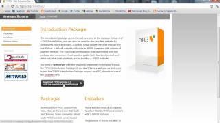 MyTypo3 01: Installation von Typo3 4.6