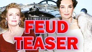 """FEUD"" Trailer   Jessica Lange & Susan Sarandon   Joan Crawford & Bette Davis"