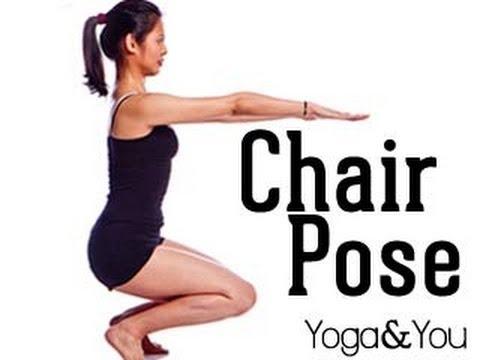 How to do Utkatasana (Chair Pose)